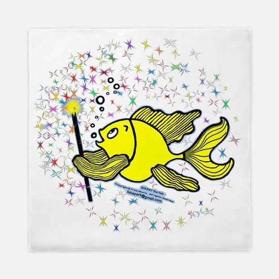 Make A Wish Fish Queen Duvet