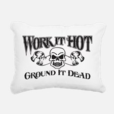 ground it dead 1 Rectangular Canvas Pillow