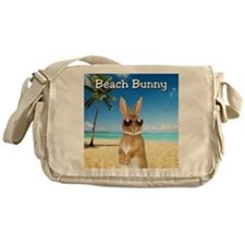 cp_Beach_Bunny01 Messenger Bag