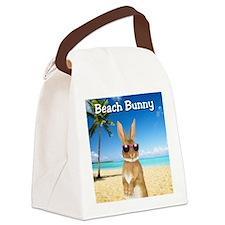 cp_Beach_Bunny01 Canvas Lunch Bag