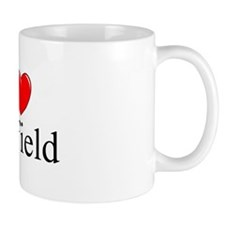 """I Love Fairfield"" Coffee Mug"