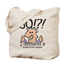 Recount 50th Birthday Tote Bag