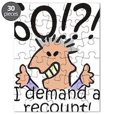 Recount 60th Birthday Puzzle