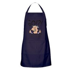 Recount 60th Birthday Apron (dark)
