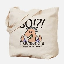 Recount 80th Birthday Tote Bag