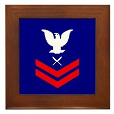 Yeoman Second Class<BR> Framed Tile