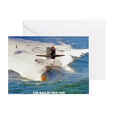 dallas large framed print Greeting Card