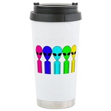 You Are Not Alone Travel Coffee Mug