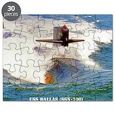 dallas mini  poster Puzzle
