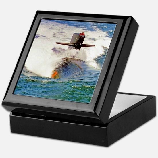 dallas framed panel print Keepsake Box