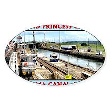Island Princess Panama Canal 2011 c Decal