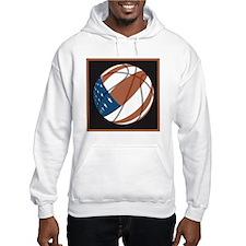 Flag basketball Hoodie