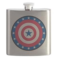 Stars bullseye Flask