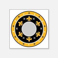 """Fleur du lis Square Sticker 3"""" x 3"""""""