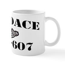 dace black letters Mug