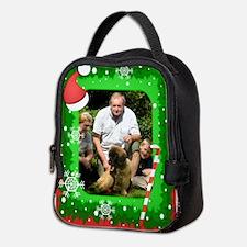 Personalizable Christmas Photo Frame Neoprene Lunc