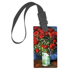 Red Poppies -PC Luggage Tag