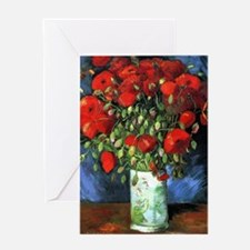 Red Poppies -PC Greeting Card