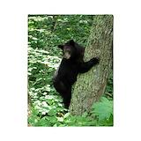 Black bear Twin Duvet Covers