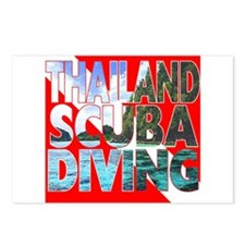 Thailand Scuba Diving Postcards (Package of 8)