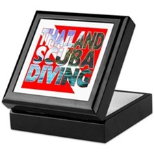 Thailand Scuba Diving Keepsake Box
