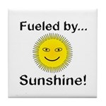 Fueled by Sunshine Tile Coaster