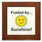 Fueled by Sunshine Framed Tile