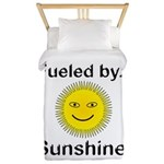 Fueled by Sunshine Twin Duvet