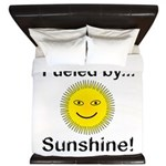 Fueled by Sunshine King Duvet