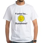 Fueled by Sunshine White T-Shirt