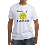 Fueled by Sunshine Fitted T-Shirt
