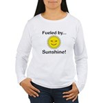 Fueled by Sunshine Women's Long Sleeve T-Shirt