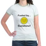Fueled by Sunshine Jr. Ringer T-Shirt