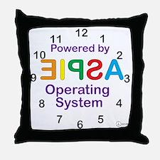 Clock OS Throw Pillow