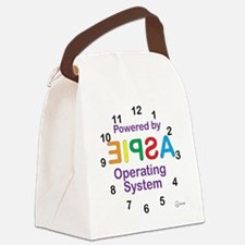 Clock OS Canvas Lunch Bag