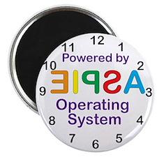 Clock OS Magnet