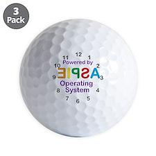 Clock OS Golf Ball