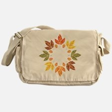 Autumn leaves Messenger Bag