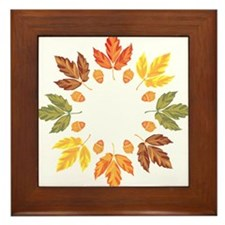 Autumn leaves Framed Tile