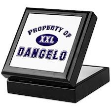 Property of dangelo Keepsake Box