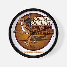 ScienceSchmience_dark Wall Clock