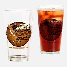 ScienceSchmience_dark Drinking Glass