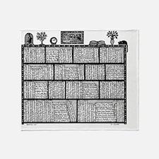 Bookshelf4 Throw Blanket