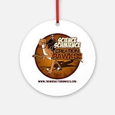 ScienceSchmience_lighttshirt Round Ornament
