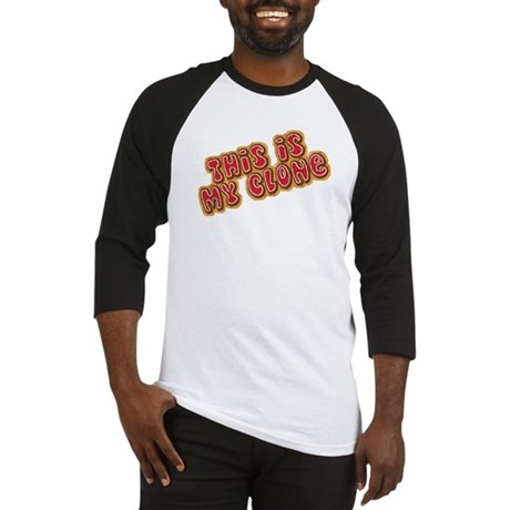 This Is My Clone Baseball Jersey