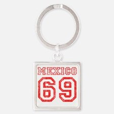mexico-69 Square Keychain
