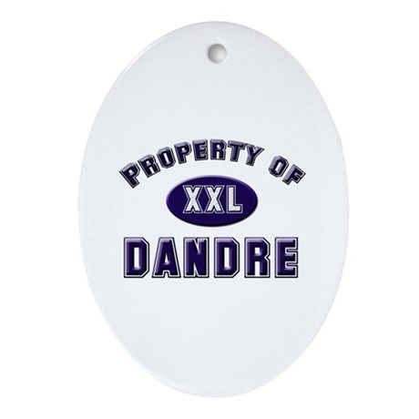 Property of dandre Oval Ornament