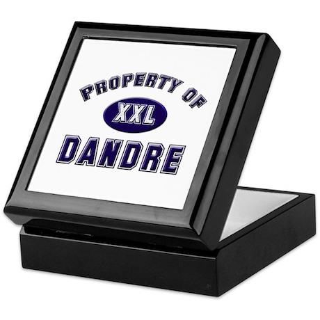 Property of dandre Keepsake Box