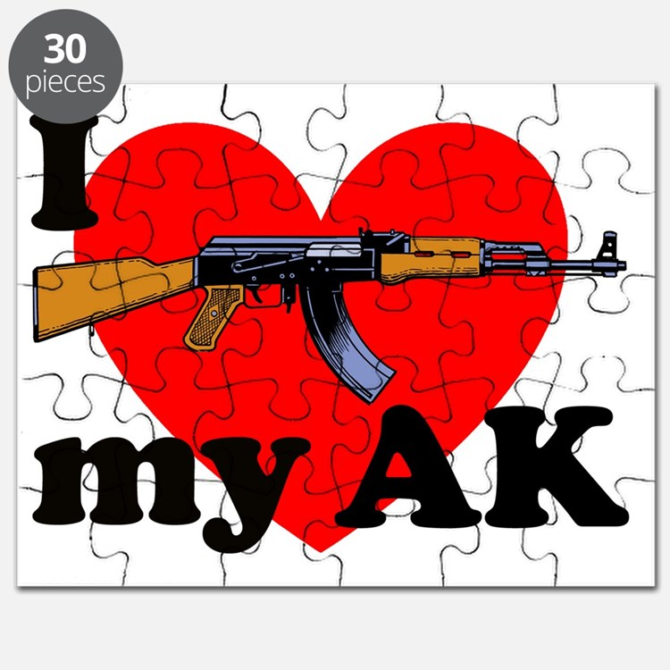 Luv My AK 1 Puzzle