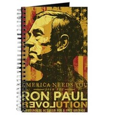 Ron Paul Distressed Poster 2009 Journal